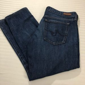 AG Piper Slouchy Slim Jeans. Size 32R - Altered